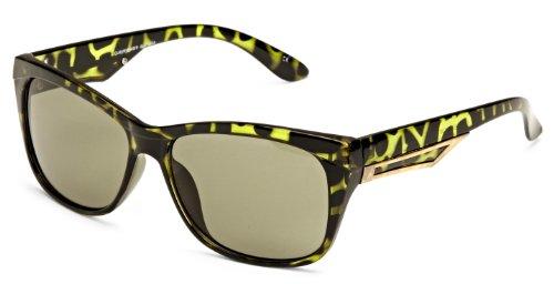 Quay Eyewear Australia Unisex Sonnenbrille 1522, Gr. One size (Herstellergröße: One Size), Grün