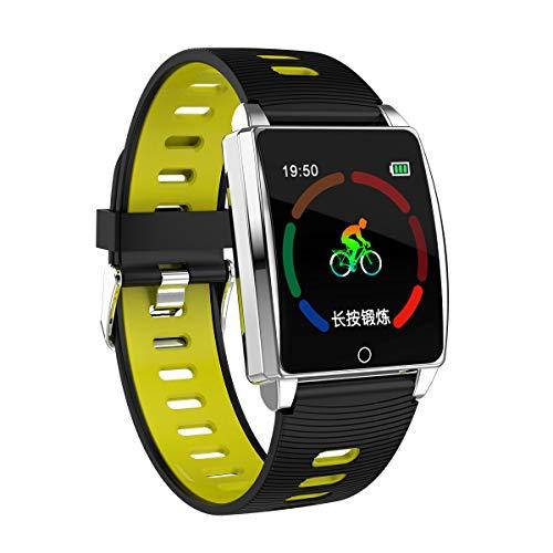 Yallylunn Farbdisplay Intelligentes Zweifarbiges Armband Bequem Und Flexibel Einfach Zum Arbeiten Oder Studieren Wasserdicht Fitnessband