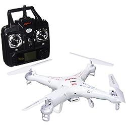 Mondo Motors - Ultra Dron X31 Explorer, drona con 4 canales y cámara, color blanco (63271)