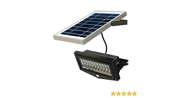 Faretto ad energia solare da giardino a led con sensore di movimento