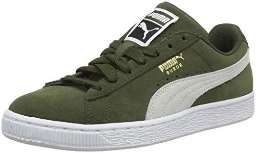 Puma Suede Classic, Sneaker Basse Unisex – Adulto, Verde (Forest Night White 33), 42 EU