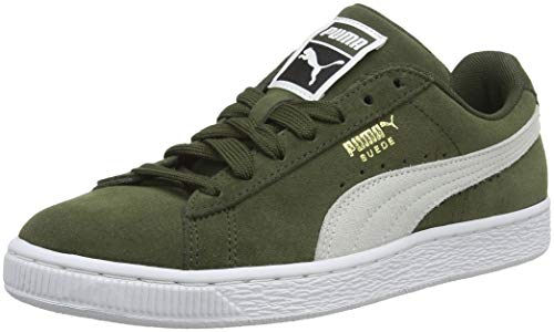 Puma Suede Classic+, Zapatillas Unisex Adulto, Verde