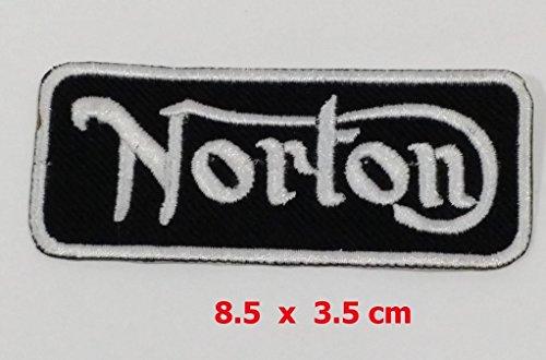 norton-motorcycle-bike-parts-coole-fun-t-shirts-maglietta-con-logo-ricamato-ferro-o-sew-on-by-fullmo