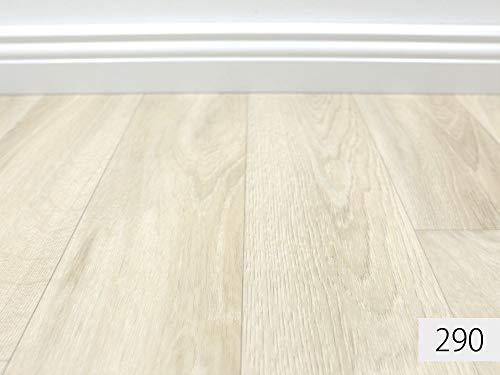 PVC Vinyl-Bodenbelag in gebleichtem Grau | Muster PVC-Belag | CV-Boden wird in benötigter Größe als Meterware geliefert | rutschhemmend -