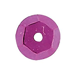 Gütermann/KnorrPrandell 6232248 - Cubetas de color rosa de lentejuelas de 6 mm, 500 unidades/bolsa Importado de Alemania