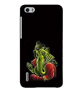 Fuson 3D Designer Mobile Back Case Cover For Huawei Honor 6