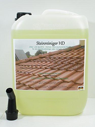 A.K.B. Steinreiniger HD Konzentrat,(KEIN BIOZID !!!) Rostentferner, FliesenGrundreiniger, 0241,(10 Liter + 1 Ausgiesser)