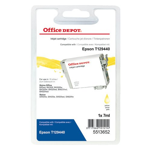 office-depot-t129440-cartuccia-compatibile-epson-t129440-giallo