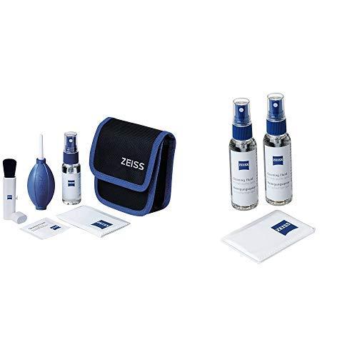 ZEISS Lens Cleaning Kit - Reinigungsset für Objektive, Filter, Brillengläser, Ferngläser und LCD-Displays &  Reinigungsspray für Objektive, Filter, Brillengläser, Ferngläser und LCD-Displays Lens Cleaner Kit