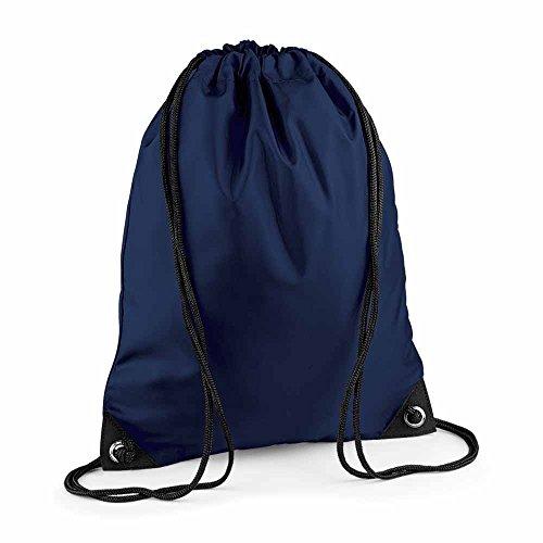 BAG BASE - sac à bretelles - gym - linge sale - chaussures - BG10 - bleu marine