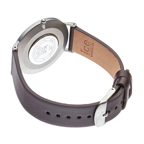 Ice-Watch – CITY tanner Brown Taupe – Men's (Unisex) wristwatch with leather strap – 001518 (Medium)