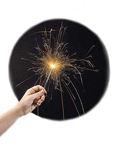 10 CIERGES MAGIQUE ETINCELANT 18 CM FETE ANNIVERSAIRE 4047291004399
