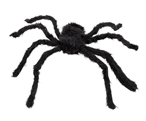 Dildoridoo - Halloween Dekoration große Haarige Spinne Party, 1 Stück, 50x65cm, (Swirl & Dekorationen Geister Spinnen)