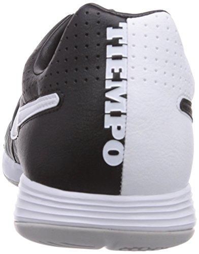 Nike - Tiempo Legacy IC, Scarpe da calcio da uomo Nero (Black/White-White 010)