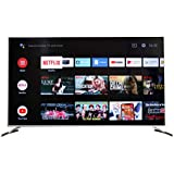 METZ 138 cm (55 inches) 4K Ultra HD Certified Android Smart LED TV M55G2 (Metallic)