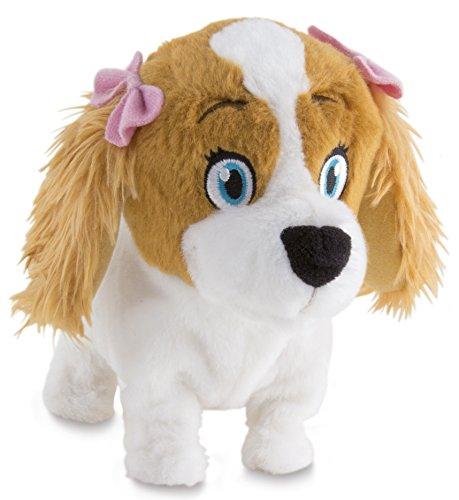 IMC Toys-Lola il cane di peluche, colore: marrone/bianco