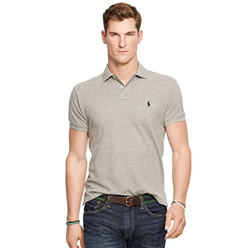 Ralph Lauren Men's Polo Shirt Classic Fit Various Colours (M, Grey Heather)