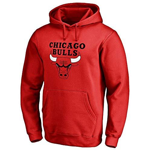 GRYUEN Männer Hoodie NBA Chicago Bulls Trainingsanzug Basketball Hoodie Sport T-Shirt