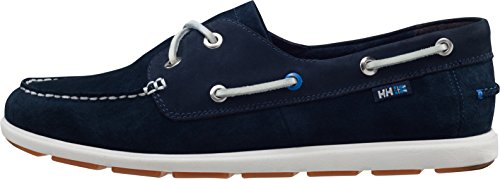 Helly Hansen Herren Danforth 2 Mokassin Blau (597 NAVY / OFF WHITE / LIGHT G)