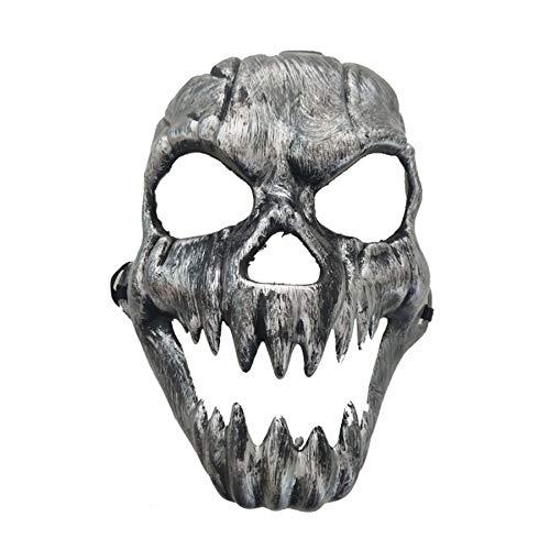 Lovelysunshiny Scary Geistermaske Halloween-Kostüm Masken Vollmasken Partykostüme Prop
