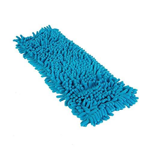 Stahlmann & Sachs PrimeMop 5X Chenille Wischmopp Microfaser Blau für Parkett Laminat 50cm Top Haushalt Qualität