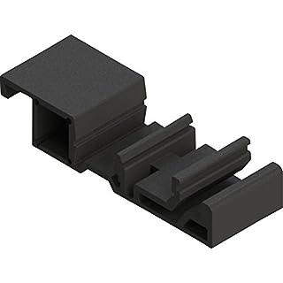 Axxatronic Befestigungselement black (L x B x H) 59.65 x 20 x 12.75 mm CDR-BRACKET-CON 1 St.