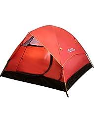 Équipement d'extérieur Mobi extérieur printemps et été Randonnée Camping coupe-vent 3–4Lits superposés en aluminium pôle Tente de camping