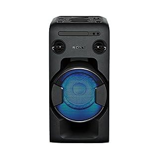 Sony MHC-V11 leistungsstarkes One Box Soundsystem (470 Watt Ausgangsleistung, Mega Bass, FM-Radio, CD, USB, Bluetooth, NFC) schwarz