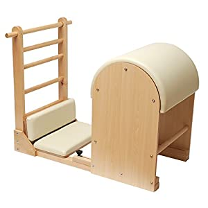 Yogistar Ladder Barrel – Holz-Basis – Creme