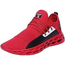 Zapatillas Deporte Hombre Deportivas Ligeras Transpirables Zapatos Suela de Nido de Abeja Aire Libre y Deporte
