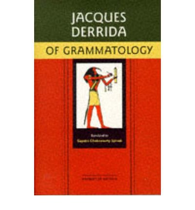 [ OF GRAMMATOLOGY BY DERRIDA, JACQUES](AUTHOR)PAPERBACK