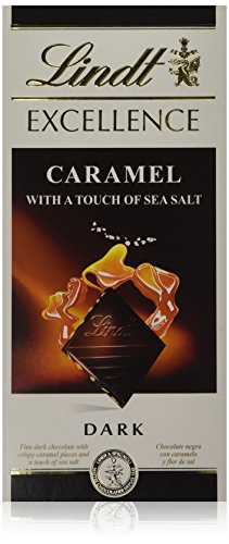 Lindt Excellence Caramel with a Touch of Sea Salt Dark, 100g