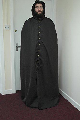 Cwtsi A great little cloak company Corduroy Cotton Cloak (Death Knight Cosplay Kostüm)