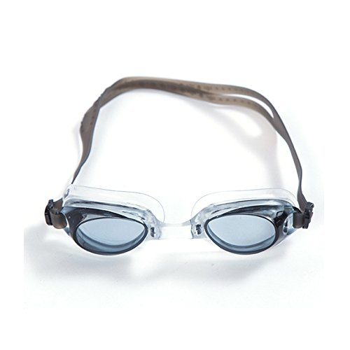 YHJM Schwimmbrille, Anti-Fog- und UV-Schutz Zweiwege-Verordnung Professional bequemes Training Brillen, für Männer und Frauen, für Jugendliche, blau, See blau, grau, pink, grau (Vision Kurbel)