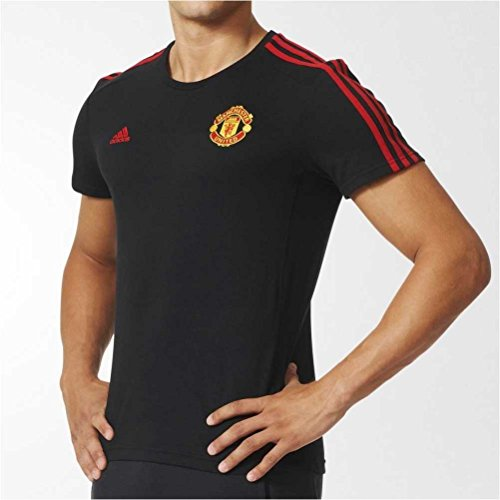 Adidas MUFC 3S tee t-shirt pour homme