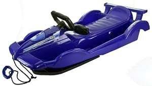 AlpenGaudi Slittino/bob, modello: Alpenrace, dimensioni: 100cm, blu