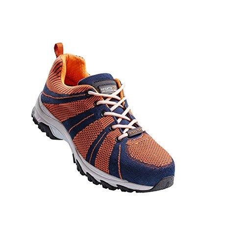 Regatta Hardwear - Rapide Knit - Scarpe di sicurezza a pianta larga - Uomo Black/Grey