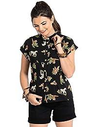 f94b439acc2 Amazon.co.uk  Hell Bunny - Blouses   Shirts   Tops