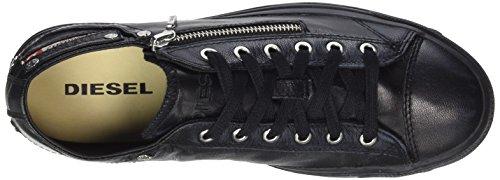 Diesel Magnete Expo-Zip Low, Sneaker Donna Nero (Black)