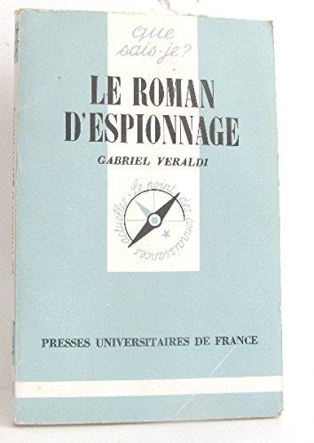 Le Roman d'espionnage