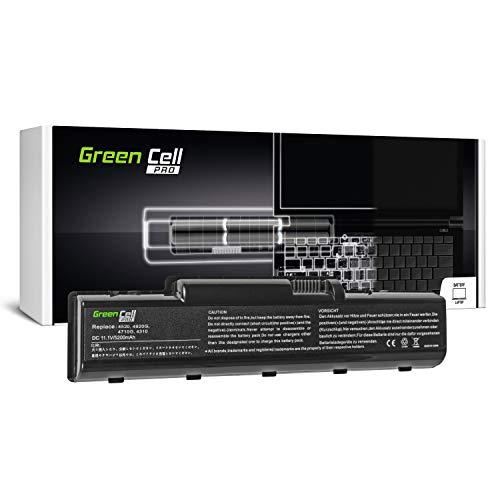 GC® PRO Serie Laptop Akku für Acer Aspire 4530G-752G32MN 4535 4535-5015 4535-5133 4535-5588 (Samsung SDI Zellen 5200mAh 11.1V Schwarz) -