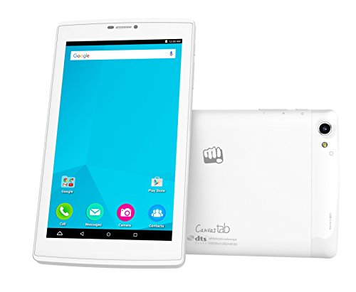 Micromax Canvas Tab P702 Tablet (WiFi, 4GVoLTE, Voice Calling), White
