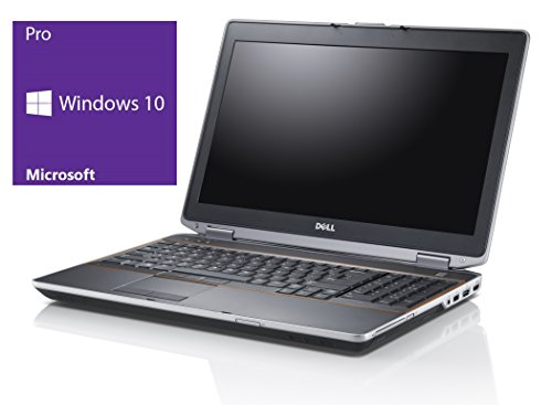 Dell Latitude E6410 Notebook | 14.1 Zoll Display | Intel Core i5-520M @ 2,4 GHz | 4GB DDR3 RAM | 320GB HDD | DVD-Brenner | Windows 10 Pro vorinstalliert (Generalüberholt)