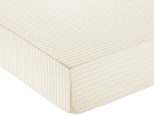 AmazonBasics Deluxe Microfiber Fitted Sheet
