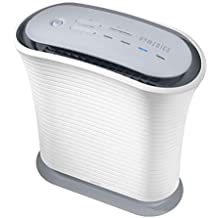 HoMedics TotalClean True HEPA Air Purifier Fan for Medium Rooms (Renewed)