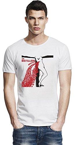 The Distillers Cover Raw Edge-T-Shirt Medium