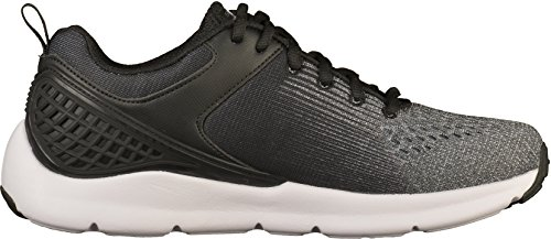 Skechers Nichlas, Baskets Homme Noir (Black/grey)