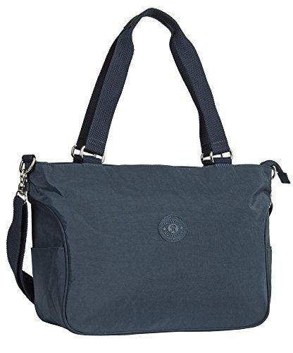 Big Handbag Shop, Borsa a mano donna Design 1 - Navy