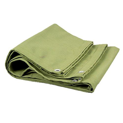 YMXLJF Lona, paño protector de madera, lona gruesa, aislamiento térmico, verde militar...