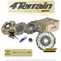 4Terrain Ultimate Premium Clutch Kit | ER2 Heavy Duty Cover Assembly | Dual Friction, High
